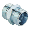 DIN bite type tube fitting male hydraulic adapter equal one
