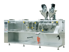Automatic bagged packing machine powder chemical water granules viscosity bag packing machine chemical bagged line