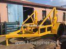 Cable Wire Vehicle & Cable Drum Trailer Carriage 3 - 8 Ton for Transporting Cable Reels