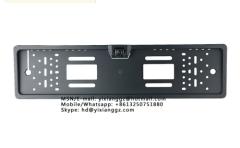 Night Vision European License Plate Frame Backup Camera/Car Rear View Camera