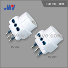 3 outlets Adaptor plug