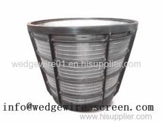 Wedge Wire Screen Basket