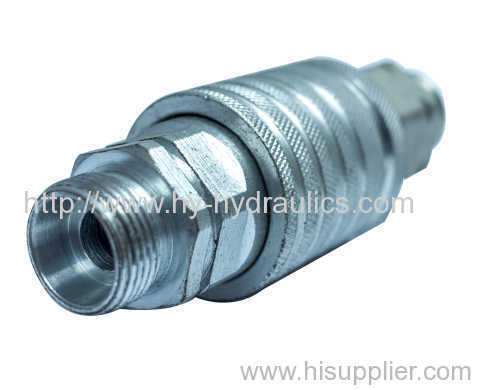 Carbon steel BSP hydraulic fittings