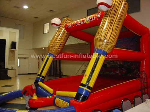 Inflatable Batter Up sport games make from China