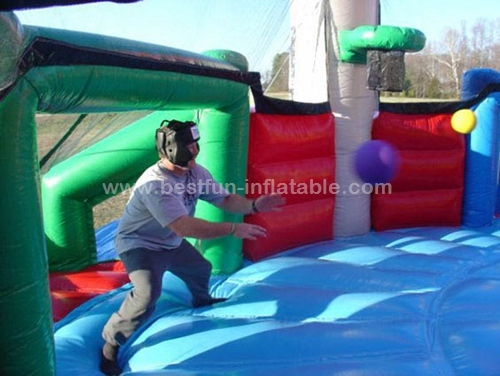 Inflatable Defender Dome for party doge ball games