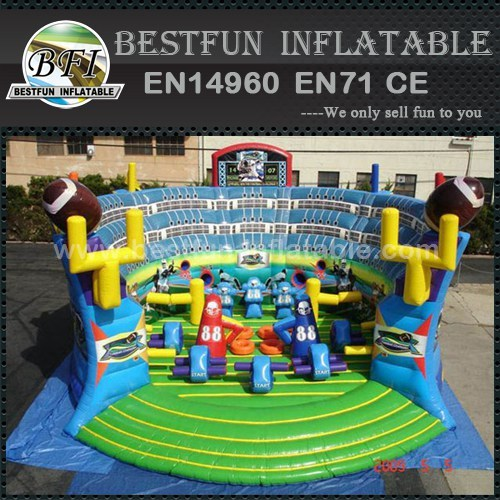 Football Challenge inflatable soccer goal