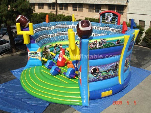 Inflatable Rugby Skills Obstacle