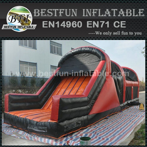 Commercial obstacle course inflatable