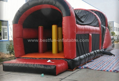 Extreme Rush Obstacle Course With Slide