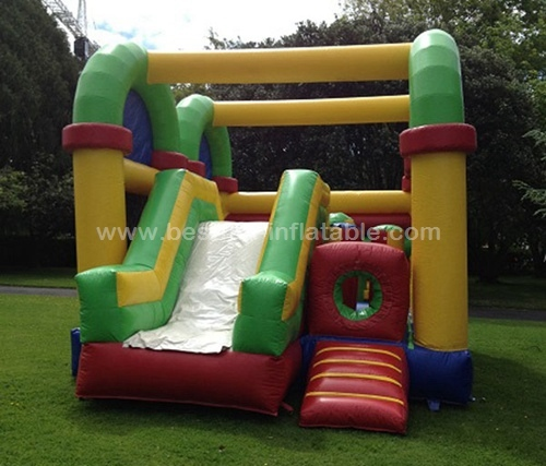 Inflatable Bouncer Splayed Indoor Playground Inflatable Combos Obstacle Course