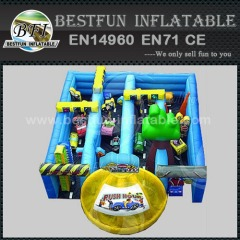 Inflatable maze bounce house for sale