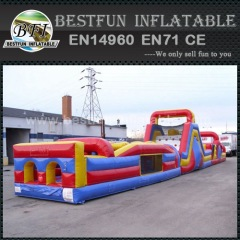 Adult cheap inflatable obstacle course