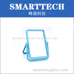 Rectangle Shape Girl Mirror Plastic Spare Parts Mould