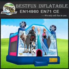 Frozen Banner Inflatable air bouncer