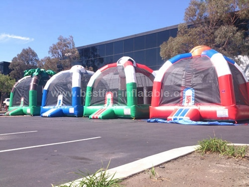Color customized inflatable adult bounce house