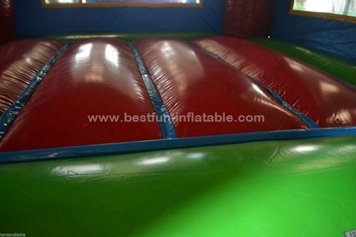 Commercial Inflatable v-roof sports arena bounce