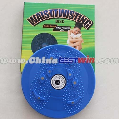 Twist the waist dish health magnet