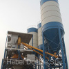 Supply high quality HZS180 concrete batching plant with ISC certification