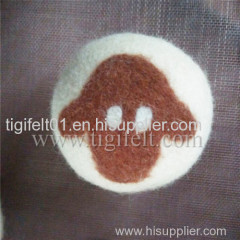 wool dryer balls felt fabric