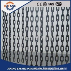 Mining Round Link Chain for Chain Hoist of scraper accessories with best price