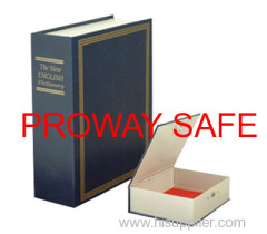book safe box PVC Cover