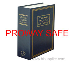 Metal deversion fake book safe
