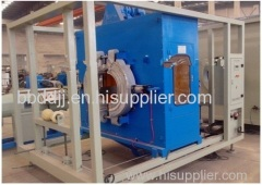 hdpe water supply pipe machine