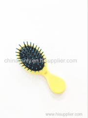 オーバルクッションミニプラスチックプロのヘアブラシ