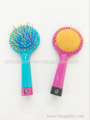 Double side Mini Plastic Professional Hair brush