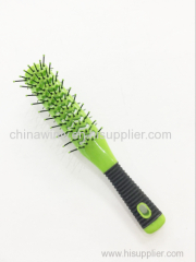 ダブルプラスチックプロのヘアブラシ毛