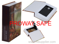 fake book box The material of surrounding part is corrugated carton box which reach high simulation