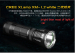 XM-L2 1200lumens led torch flashlight super good OEM factory torch factory oem