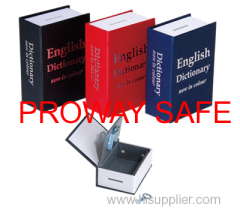 dictionary book safe Disguised as a paperback book with mask paper cover