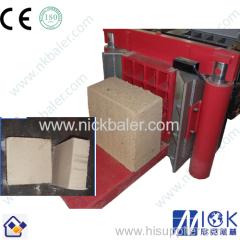 Nick Baler cocopeat horizontal compress machine