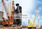 Mobile Hydraulic XCMG Crawler Crane Construction Machinery With Heavy Light Boom