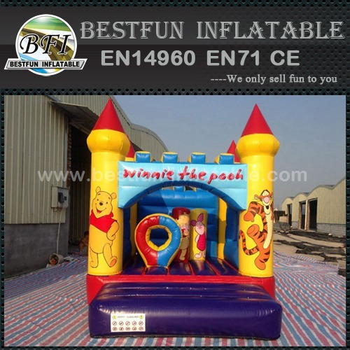 Cheap winnie inflatable bouncer for children