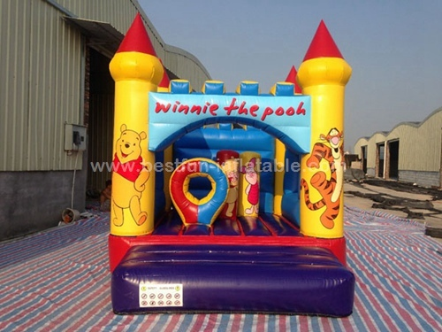Commercial newest design inflatable Winnie the Pooh bouncer