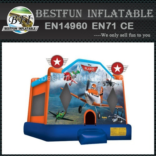 Planes inflatable bouncy castle