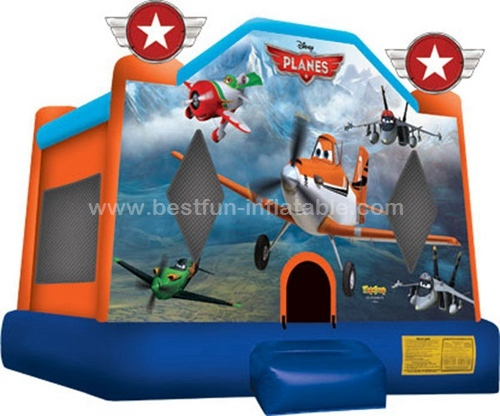 INFLATABLE MOONWALK REGULAR PLANE BOUNCER