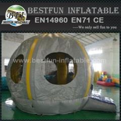 Kwaliteit opblaasbare trampoline UFO lucht uitsmijter