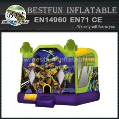 Teenage Mutant Ninja Turtles 3 em 1 castelo inflável inflável