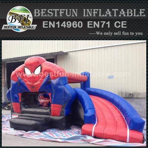Custom durable commercial spiderman bounce