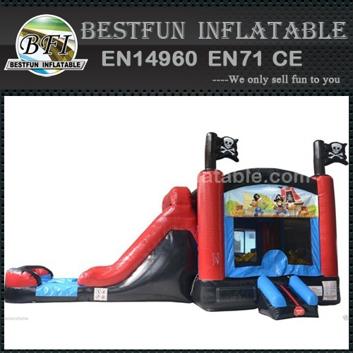 Priate Bounce House Slide Combo