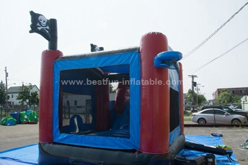 Inflatables Pirate Water Bounce House Combo