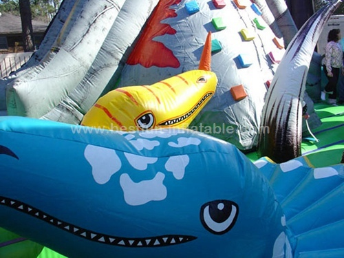 Jurassic toddler inflatable Activity Center park