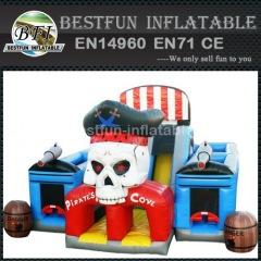 Pirates Skull Heads Inflatable Park