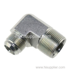 90° elbow JIC male 74° cone/ NPT male adapters