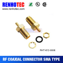 Best Quality Hot Sale SMA Jack Right Angle pcb mount connector mini sma connector