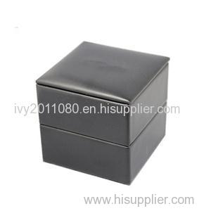 Engagement Ring Leather Box