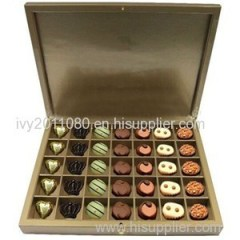 Chocolate Box With Lock